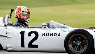 Max Verstappen in Honda ra272