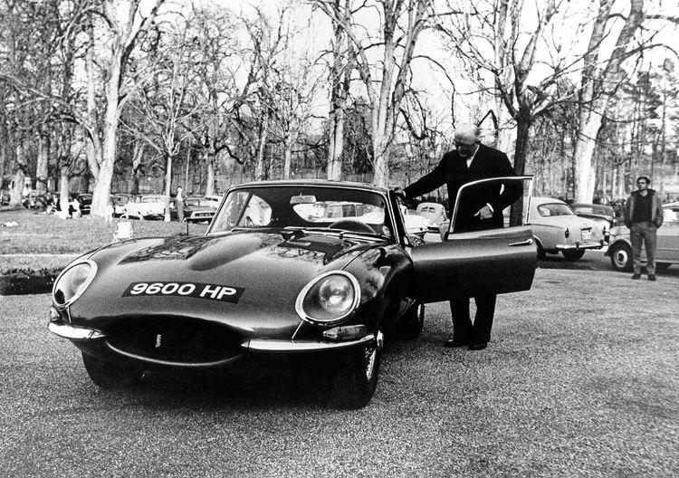 De Jaguar E-Type 9600 HP.