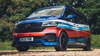 Camper, Volkswagen Transporter, Michelin