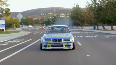 BMW M3 met Tesla-motoren