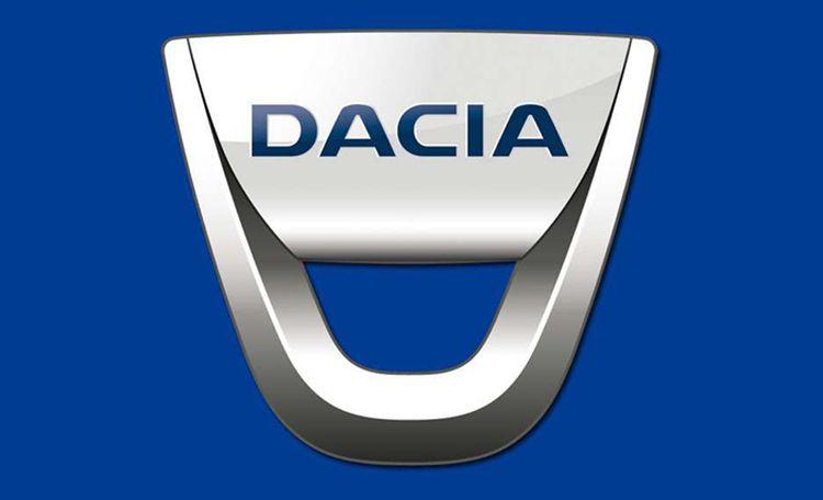 Huidige logo Dacia