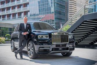 Torsten Muller-Otvos, Chief Executive Officer, Rolls-Royce Motor Cars with Rolls-Royce Cullinan (LEAD)