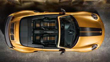 Porsche 911 Turbo s exclusive series dak
