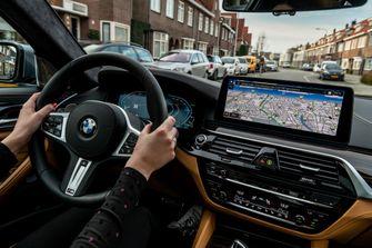 BMW Hybrid phev plugin hybride stad laadpaal bmw points