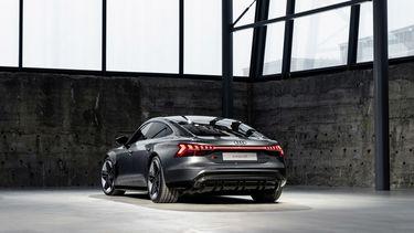 Audi RS e-tron GT elektrische auto