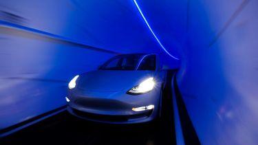Las Vegas Tunnel Tesla's