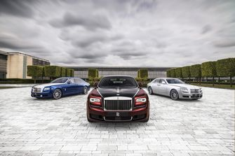 Rolls Royce Ghost Zenith Collection