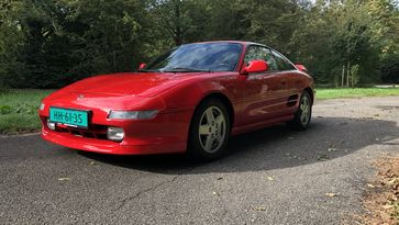 Peters Proefrit Toyota MR2