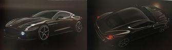 Aston Martin Vanquish Zagato BLACK