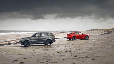 Audi E-tron S Range Rover Sport P400e