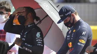 Hamilton Verstappen Silverstone 2021