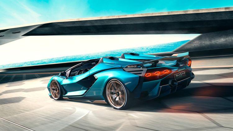 De Lamborghini Sian wordt de eerste Lambo met elektro-ondersteuning.