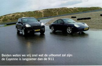 klassiekers Porsche Cayenne