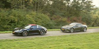 Lexus versus Porsche 3