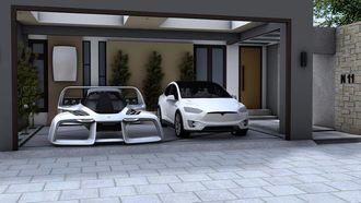 Tesla, SpaceX, vliegende auto