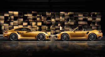 Porsche 911 Turbo S Exclusive Series duo