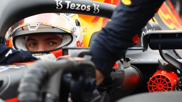 Max Verstappen close