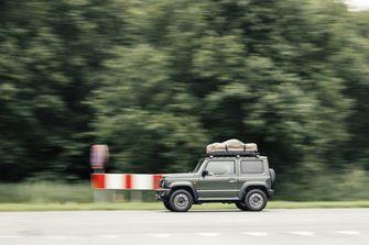Suzuki Jimny daktent
