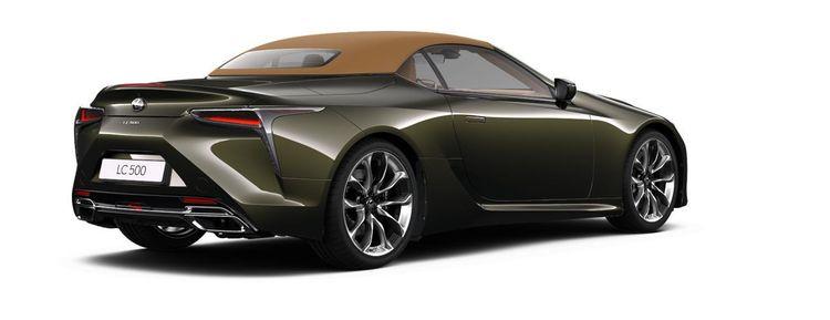 Lexus LC500 Convertible heeft een softtop
