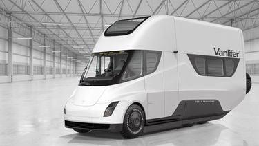 Tesla Semi Campervan