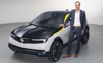 Opel CEO Michael Lohscheller GT X Experimental