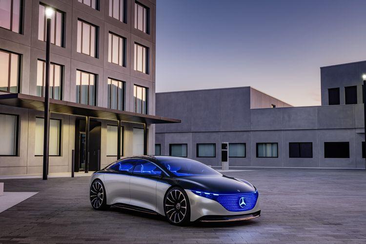 Mercedes-Benz Vision EQS (studiemodel)