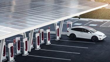 Tesla Supercharger v3 250kw Nederland