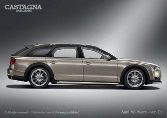 Audi A8 Avant Castagna Milano Foto 1
