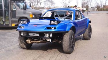 Lifted Mazda MX-5