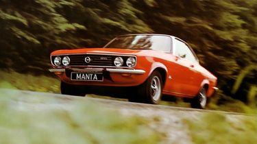 Autovisie Kennisquiz Opel Manta zonder logo