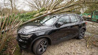 Parkeerschades Volvo