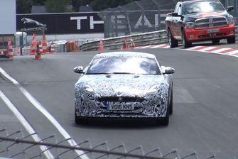 Jaguar F-Type S facelift test
