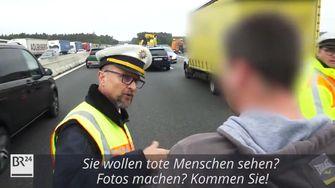 Duitse agent pakt ramptoerist aan