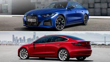 BMW i4 vs. Tesla Model 3