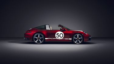 Porsche 911 Targa 4S Heritage Edition Package