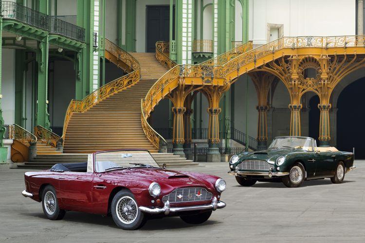Aston Martin DB4 en DB5