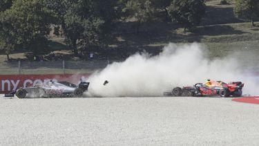 Formule 1 GP Toscane kettingbotsing 16x9