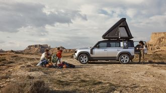 Land Rover Defender daktent