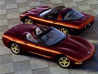 Corvette C5 coupé en Convertible