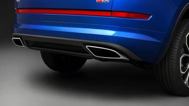 SKODA KODIAQ RS _exhaust
