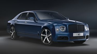 Bentley Mulsanne 675 Edition - 3, Rear 3qtr