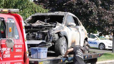 Hyundai Kona Electric Explosie