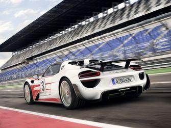Porsche 918 Spyder dd