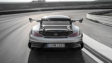Mercedes-AMG GT Black series, Valtteri Bottas, Formule 1