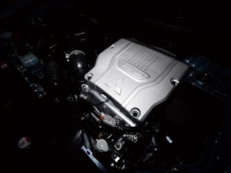 Mitsubishi Outlander PHEV motor