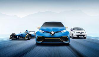 Renault Zoe e-Sport Concept