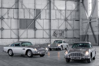 Maar liefst 25 wereldburgers voelen zich komend jaar James Bond, nu Aston Martin is begonnen met de levering van de speciale DB5 Goldfinger Continuation.