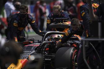 Formule 1 Portugal Max Verstappen pitstop