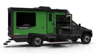 Camper, off-road, campers, elektrische