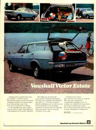 Advertentie Vauxhall Victor Autovisie